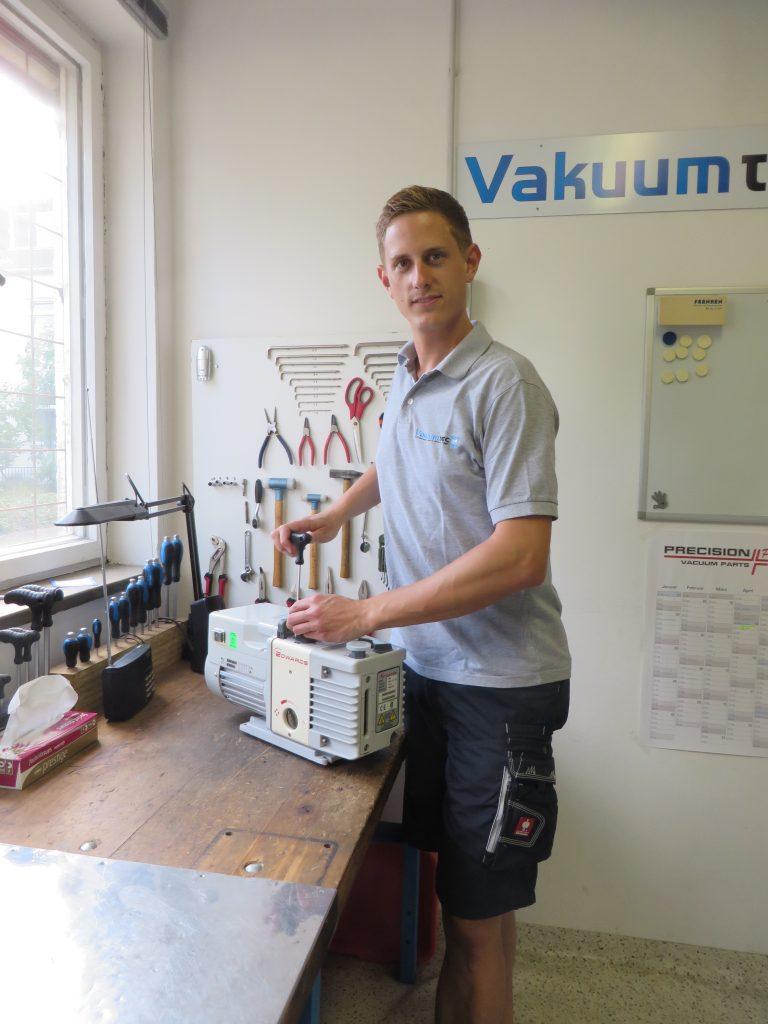 Florian Teistler Vakuumtec, Vakuumpumpenservice